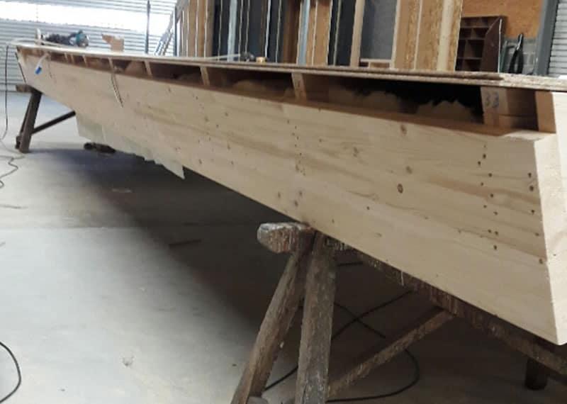 Guillet - Caisson toiture bois