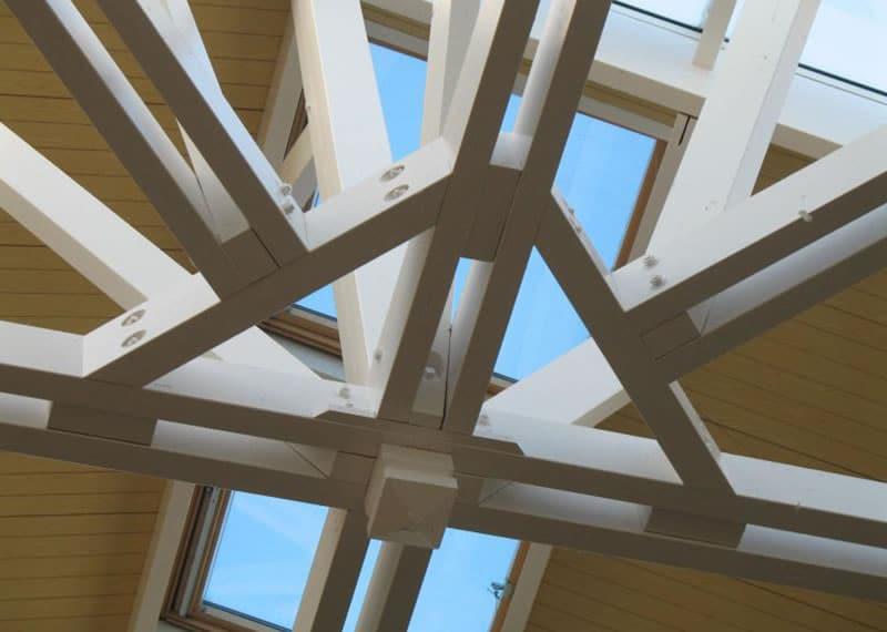la charpente traditionnelle ou ferme en bois guillet production. Black Bedroom Furniture Sets. Home Design Ideas