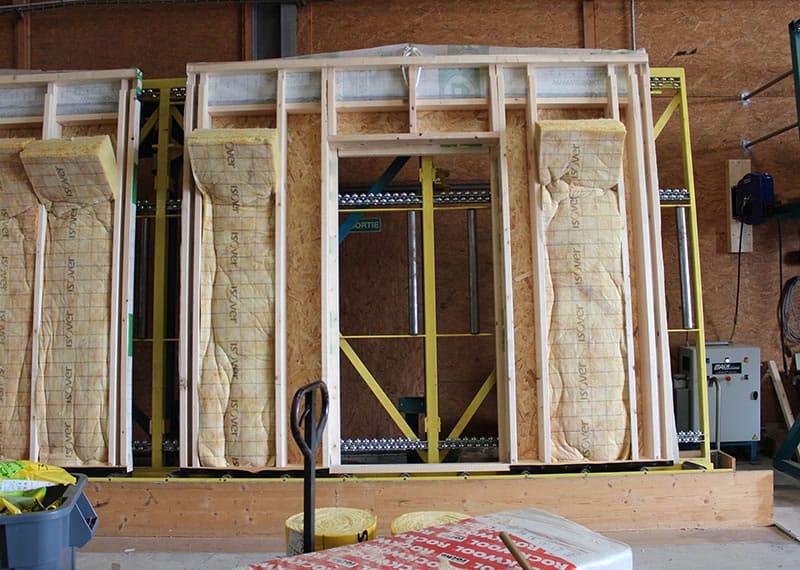 structure panneau et mur ossature bois en vend e 85 et loire atlantique 44. Black Bedroom Furniture Sets. Home Design Ideas