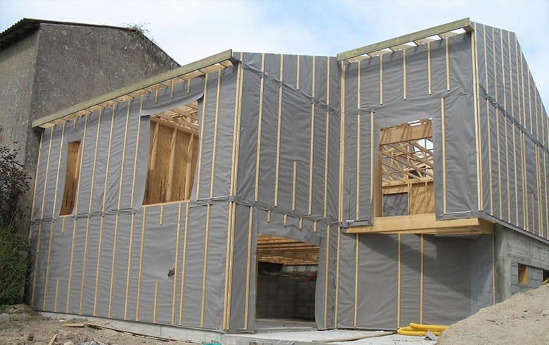 Maison ossature bois g tign 44 for Construction bois 44