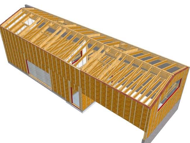 Guillet - Atelier de tapisserie aux Sorinières - Plan 3D